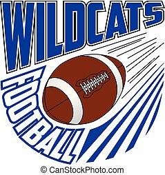 Wildcats Football Team Design