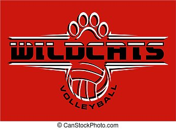 wildcats, volley-ball
