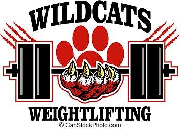 wildcats, weightlifting