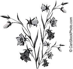 wilde bloemen, eps, gemaakt