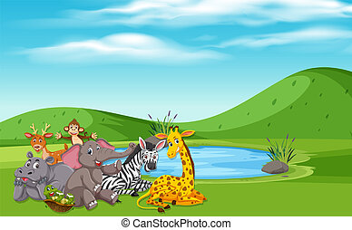 wilde dieren, natuur