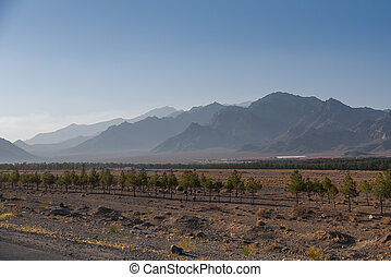 wilderness area and mountain landscape in Iran - wilderness ...