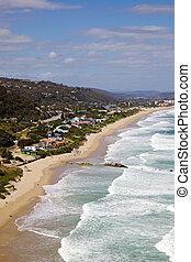 Wilderness Beach in South Africa\'s Garden Route