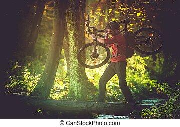 Wilderness Bike Trip