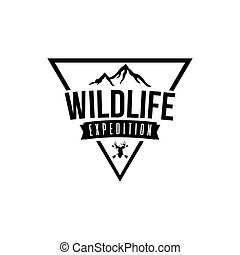 Wilderness Expedition Vector Design