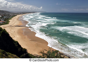 Wilderness, South Africa - Beach of Wilderness at the Garden...