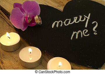 Lgbt Will You Marry Me Message A Multicolored Frame With Words Will