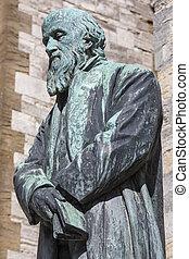 William Barnes Statue in Dorchester
