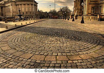 William Brown Street Liverpool HDR