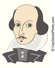 william, famoso, inglese, shakespeare, poeta