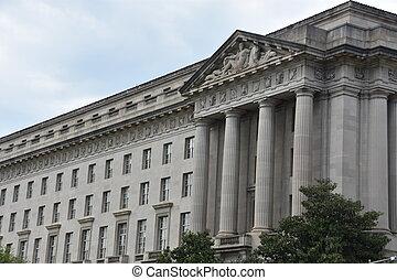 William Jefferson Clinton Federal Building in Washington, DC (USA)