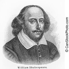 William Shakespeare old drawing - William Shakespeare -...