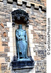 William Wallace Statue in Edinburgh