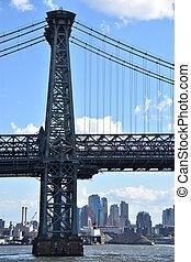 Williamsburg Bridge in New York City - Williamsburg Bridge ...