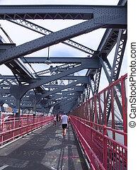 Williamsburg Bridge in New York, USA