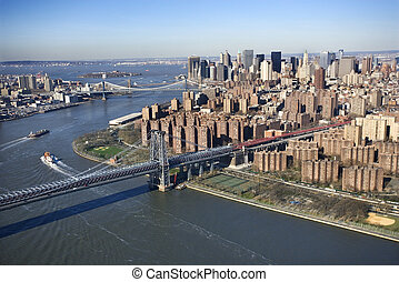 Williamsburg Bridge, NYC.