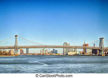 Williamsburg Bridge.