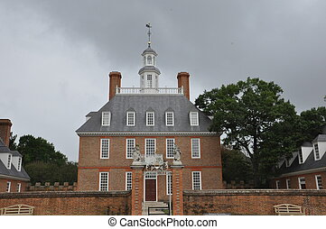 williamsburg, governor's palace
