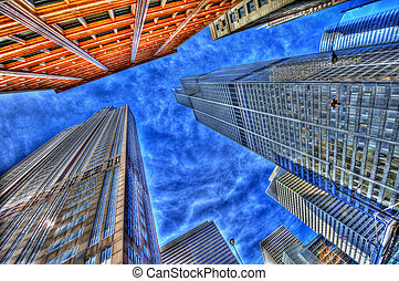 willis tower - HDR image of the willis tower chicago