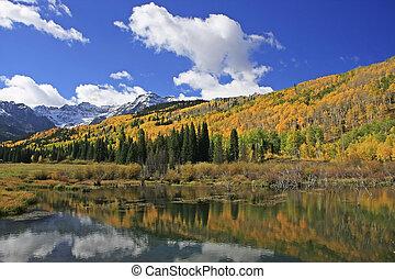 Wilson Creek, Sneffels Range wilderness, Colorado, USA