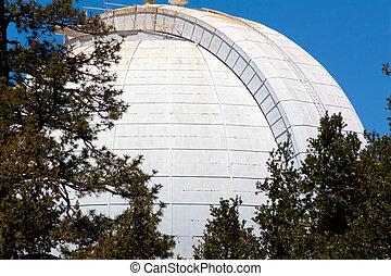 wilson, observatorio, muchos, monte, uno, telescopios