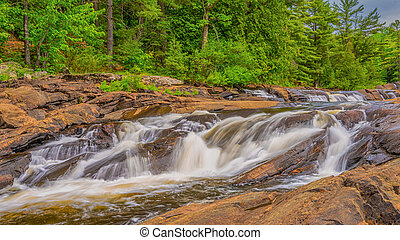 Wilsons Falls Bracebridge - Wilsons Falls are located near...