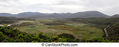 Wilsons Promontory Panorama - View from Tongue Point Track...