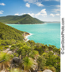 Wilsons Promontory Victoria - Landscape view of trail...