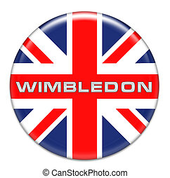 Wimbledon Button
