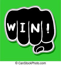 Win hand
