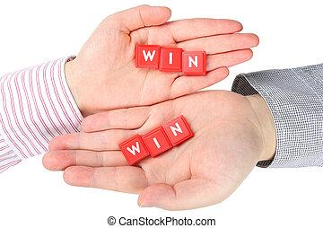 Win on hand