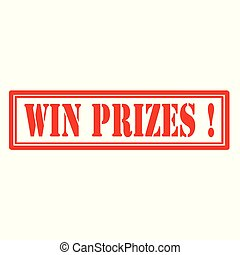 Win Prizes-stamp