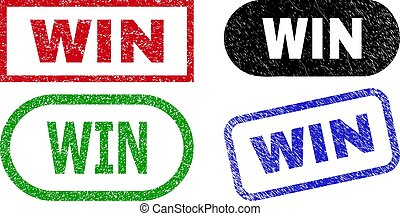 WIN Rectangle Watermarks with Unclean Surface