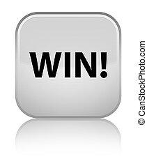 Win special white square button