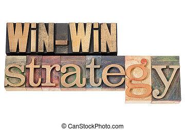 win-win, στρατηγική