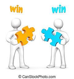win-win, 商业