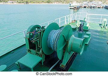 Winch anchor
