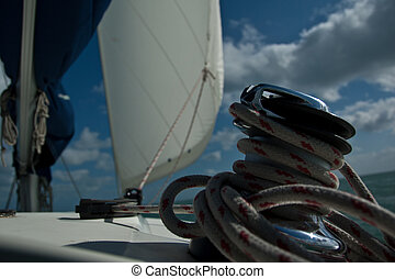 Winch and Sail