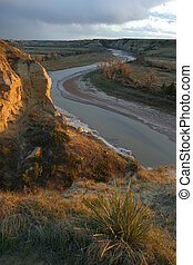 Wind Canyon Sunset