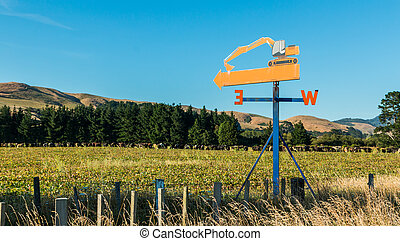 Wind Direction Sign