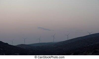 wind energy on the Greek island . - wind energy on the Greek...