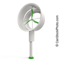 wind energy residential device