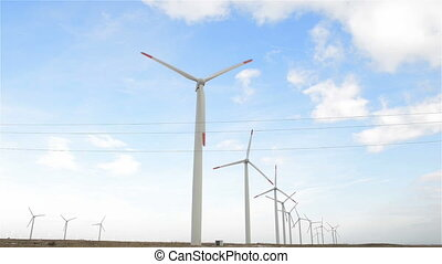 Wind energy turbines are one of the cleanest, renewable...