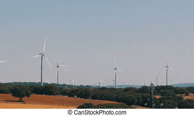 Wind energy turbines are renewable electric energy source....
