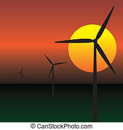 wind energy turbines