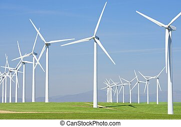 Wind energy - Windmills for electric power production, ...
