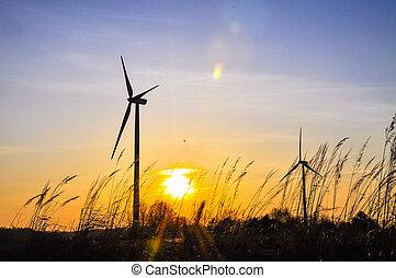 Wind farm - An image of wind farm