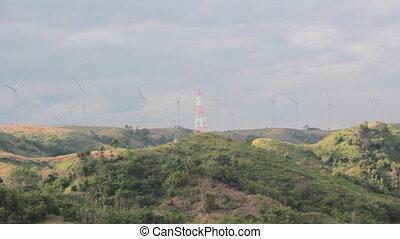 Wind Generator on mountain