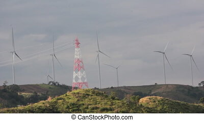 Wind Generator on mountain