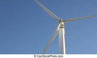 wind mill agaisnt sky